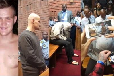 Composite image of rape accused Nicholas Ninow.