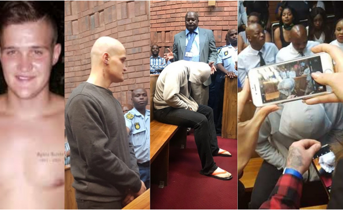 Life Sentence for Convicted South African Rapist Nicholas Ninow