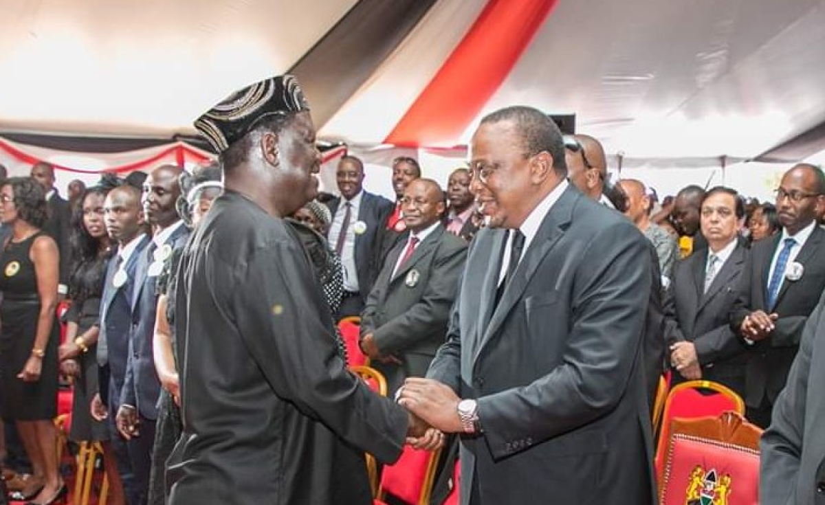 Kenya:Man Wants Kenyatta, Odinga Handshake Day Declared Public Holiday