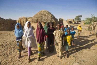 Photo d'illustration - Des enfants nigérians réfugiés au Niger.