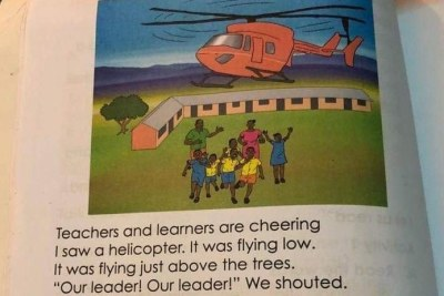 Page from Grade 2 textbook in Kenya.