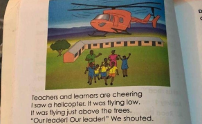 Isn't This Helicopter Illustration in Kenyan Grade 2 Books Weird?