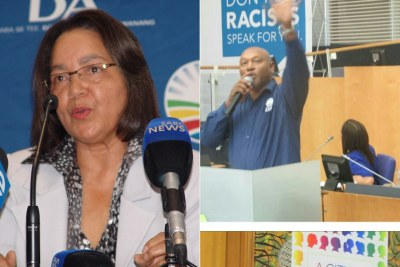 Shaun August has resigned in support of  Cape Town Mayor Patricia de Lille.