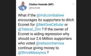 Opposition Plots Econet Boycott But Zimbabweans Aren't Buying It