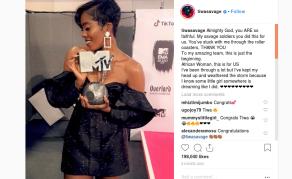 Tiwa Savage Makes History at the 2018 MTV EMAs