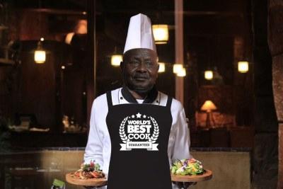 Museveni the Master Chef.