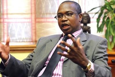Finance and Economic Development Minister Mthuli Ncube (file photo).