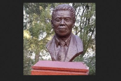 Nelson Mandela statue unveiled in China museum