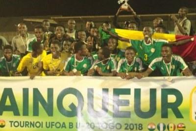 Tournoi UFOA B U20 : Le Sénégal remporte le trophée