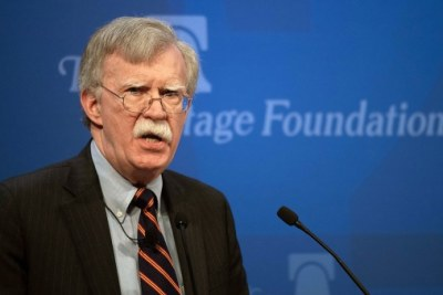 National Security Advisor John Bolton outlines Africa policy at the Heritage Foundation.