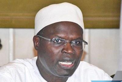 L'ex maire de Dakar Khalifa Sall