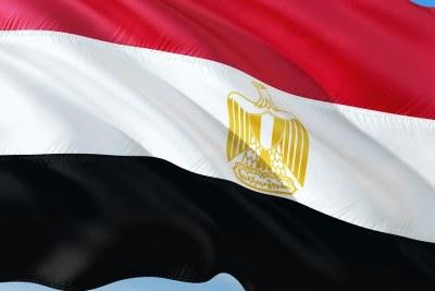 Egyptian flag.