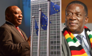 South African President Calls on EU to End Zimbabwe Sanctions