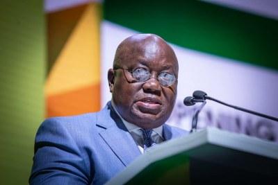 President of Ghana President Nana Addo Dankwa Akufo-Addo (file photo).