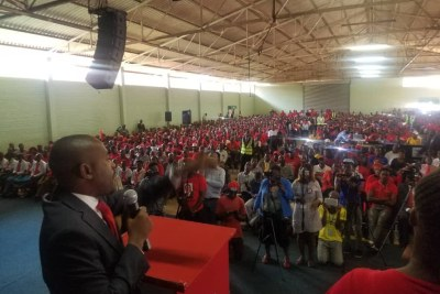 A memorial for the late MDC leader Morgan Tsvangirai was held in Harare on Febuary 14, 2019.