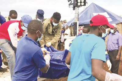 24 bodies were recovered in mining shafts at Cricket No 3 and Jongwe Mining Cooperative mines in Mhondoro-Ngezi .