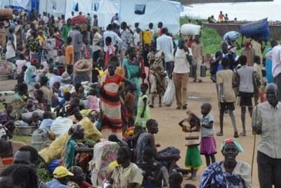Des réfugiés sud-soudanais en Éthiopie.
