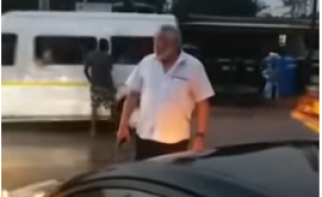 Ex-President Rawlings Parks Car to Direct Ghana's Traffic - WATCH