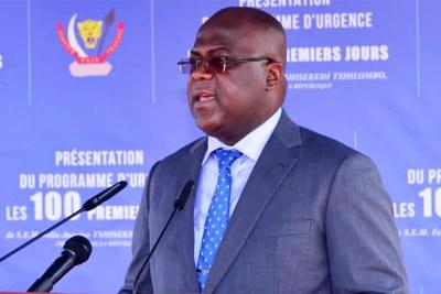 Président de la RDC Félix-A. Tshisekedi