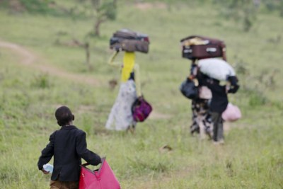 Thousands of people fleeing fear of violence in Burundi have arrived in Mahama Refugee Camp, Rwanda (file photo).