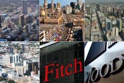 Cities of Nairobi in Kenya, Lagos in Nigeria, Johannesburg in South Africa and Windhoek in Namibia