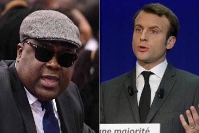 Le président français Macron va rencontrer pour la première fois son homologue congolais Felix Tshisekedi en marge du