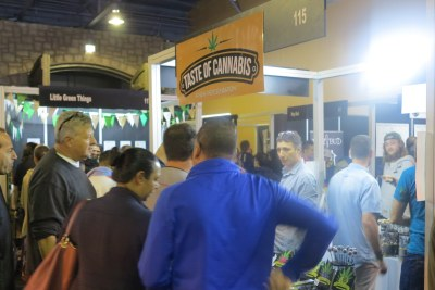 There was no shortage of visitors at the expo's many stalls.