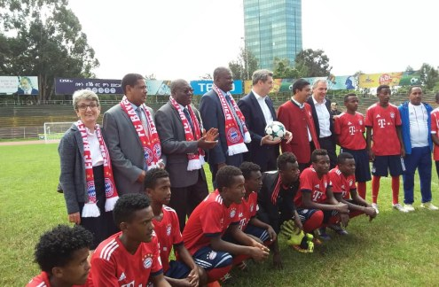 Bayern Munich Opens Soccer Academy in Ethiopia - allAfrica com
