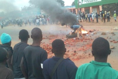 Some election protests have become violent. Poll results were not released after the Malawi Congress Party asked the High Court for a recount.