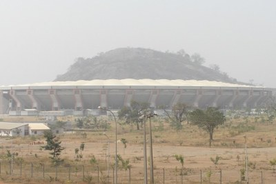 Abuja stadium.