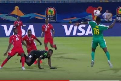 Kenya play Senegal, July 1, 2019.