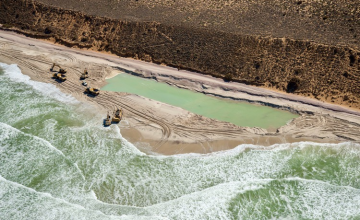 Sand Mining Rights Awarded on South Africa's West Coast