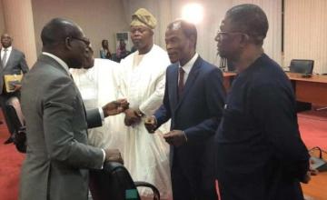 Patrice Talon rencontre les partis politiques au Bénin