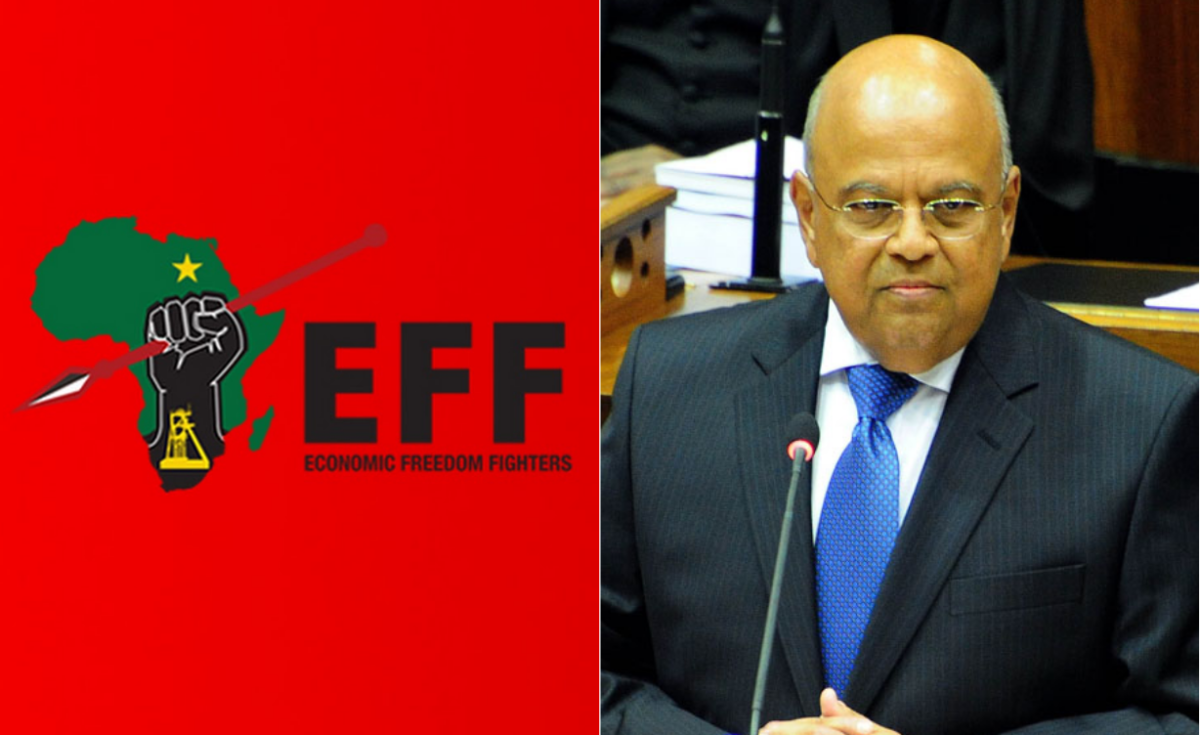 EFF Vow to Stop Gordhan from Speaking in South African Parliament