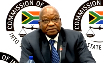 Death Threats, Denials - Ex-President Zuma's 2nd Day at Inquiry