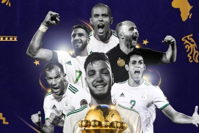 Algeria crowned champions of Africa for the second time.