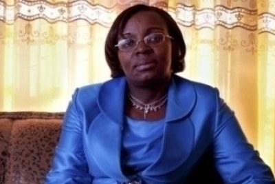 Victoire Ingabire, figure de l'opposition rwandaise.
