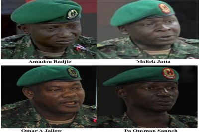 Military personnel who were referred to as 'Junglers',