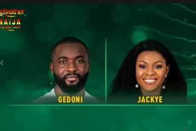 Gedoni and Jackye evicted from the Big Brother house.
