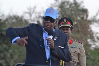 President Peter Mutharika (file photo).