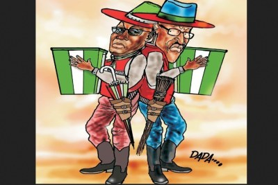 Atiku and Buhari.