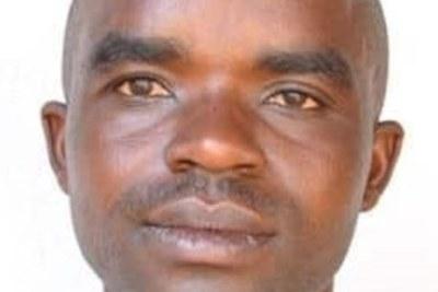 Syldio Dusabumuremyi, coordonnateur national du parti politique de l'opposition non enregistré Forces démocratiques unifiées (FDU-Inkingi)