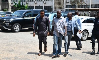 Three Suspected Ghanaian Coup Plotters Appear in Court