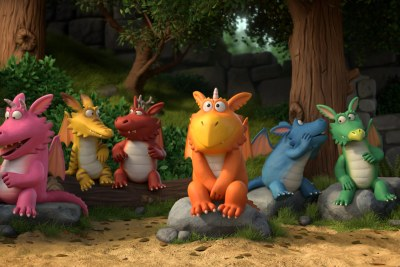Promotional image of Zog from Cape Town animation studio Triggerfish.