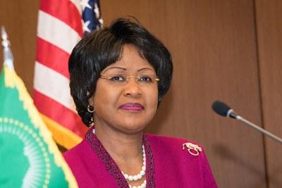 Former African Union ambassador to the United States, Dr Arikana Chihombori-Quao.