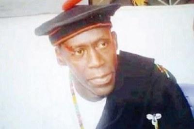Abdou Elinkine Diatta, (auto-proclamé Secrétaire général du Mfdc),