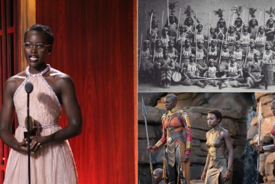 Lupita Nyong'o sheds light on the forgotten women warriors.