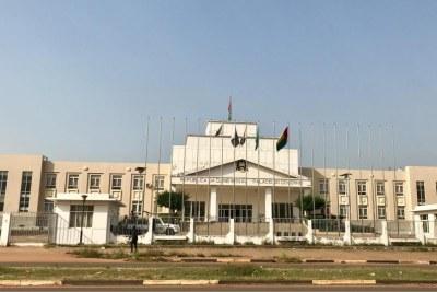 Le palais du gouvernement à Bissau, le 1er novembre 2019.