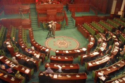 The Tunisian Constituent Assembly in 2012.