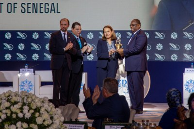 Grand Prix MEDays 2019  attribué à son Excellence M. MACKY SALL, président du Sénégal.